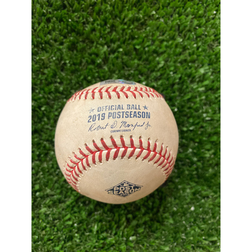 Photo of Nick Markakis and Matt Joyce Hit Single Ball - 10/4/2019 NLDS Game 2