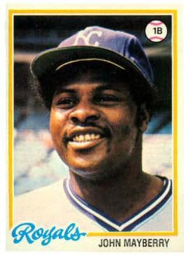 Photo of 1978 Topps #550 John Mayberry