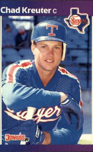 Photo of 1989 Donruss #579 Chad Kreuter DP RC