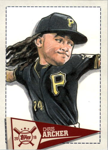 Photo of 2019 Topps Big League Star Caricature Reproductions #SCRCA Chris Archer