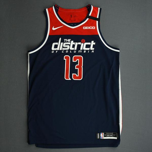 Image of Thomas Bryant - Washington Wizards - Game-Worn Statement Edition Jersey - 2019-20 NBA Season
