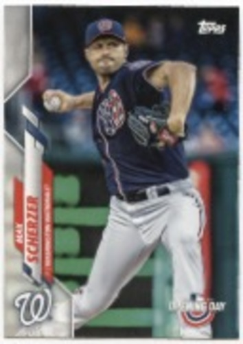 Photo of 2020 Topps Opening Day #20 Max Scherzer