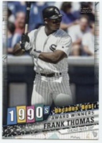 Photo of 2020 Topps Decades' Best #DB70 Frank Thomas