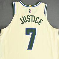 Ersan Ilyasova - Milwaukee Bucks - Game-Worn City Edition Jersey - 2019-20 NBA Season Restart with Social Justice Message