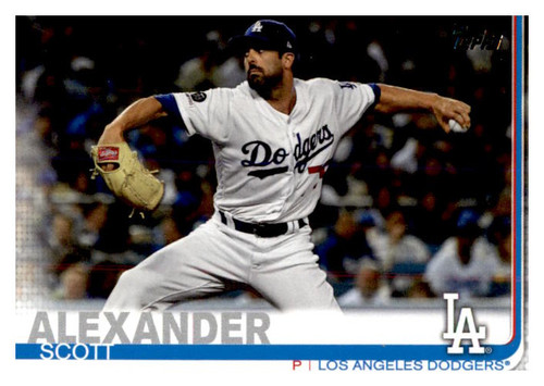 Photo of 2019 Topps Update #US162 Scott Alexander