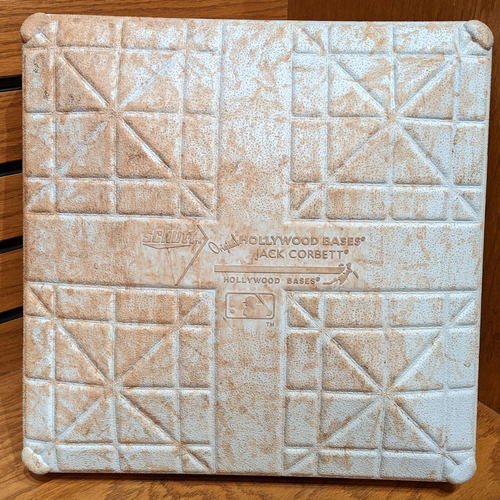Photo of August 12, 2016 Red Sox vs. Diamondbacks Game Used 1st Base