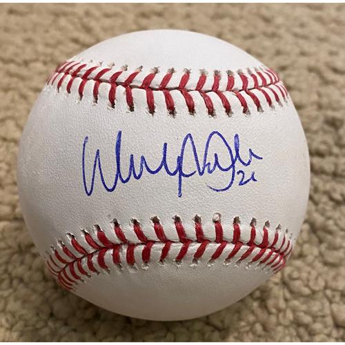 Walker Buehler Authentic Autographed Baseball