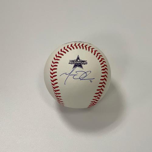 Photo of Matt Olson Autographed 2021 All-Star Game Baseball