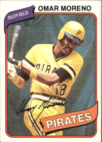 Photo of 1980 Topps #165 Omar Moreno