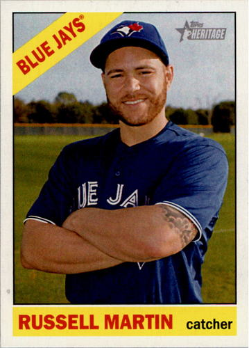 Photo of 2015 Topps Heritage #61 Russell Martin