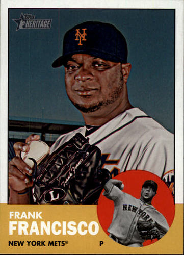 Photo of 2012 Topps Heritage #426 Frank Francisco SP