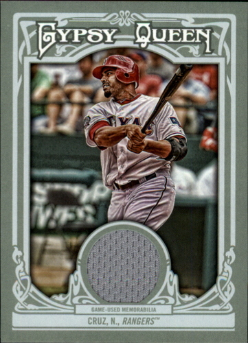 Photo of 2013 Topps Gypsy Queen Relics #NC Nelson Cruz
