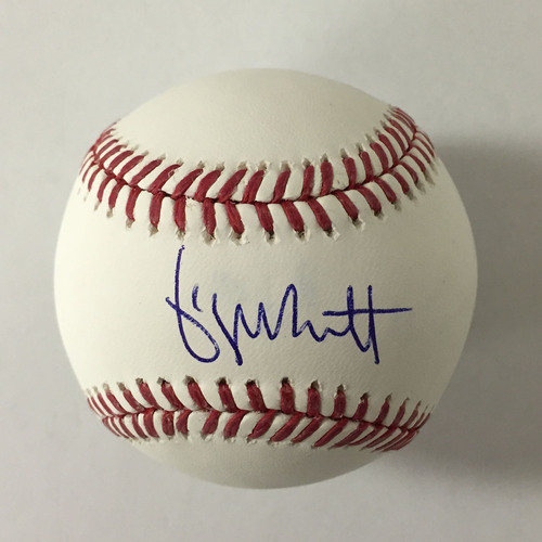 Photo of George Brett Autographed Baseball