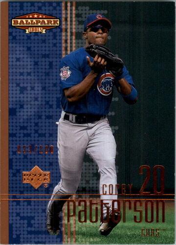 Photo of 2002 Upper Deck Ballpark Idols Bronze #127 Corey Patterson