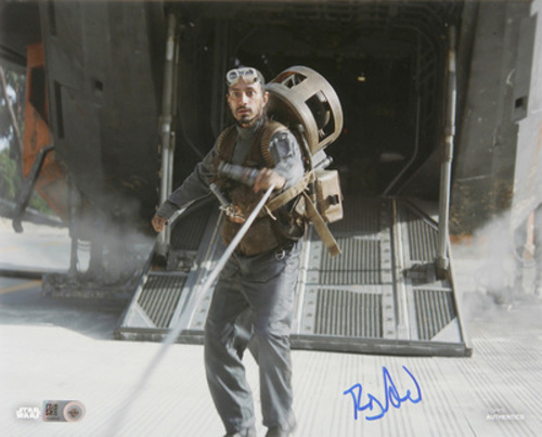 Riz Ahmed as Bodhi Rook 8x10 Autographed in Blue Ink Photo