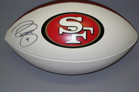 49ERS - PHIL DAWSON SIGNED PANEL BALL W/ 49ERS LOGO