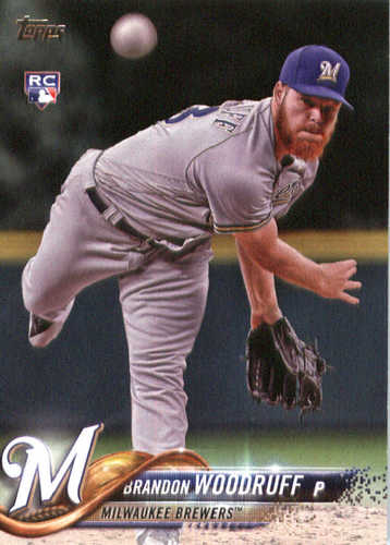 Photo of 2018 Topps #179 Brandon Woodruff RC