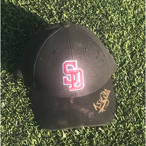 Photo of Mark Bailey Autographed and Game-Used Stoneman Douglas Eagles Cap
