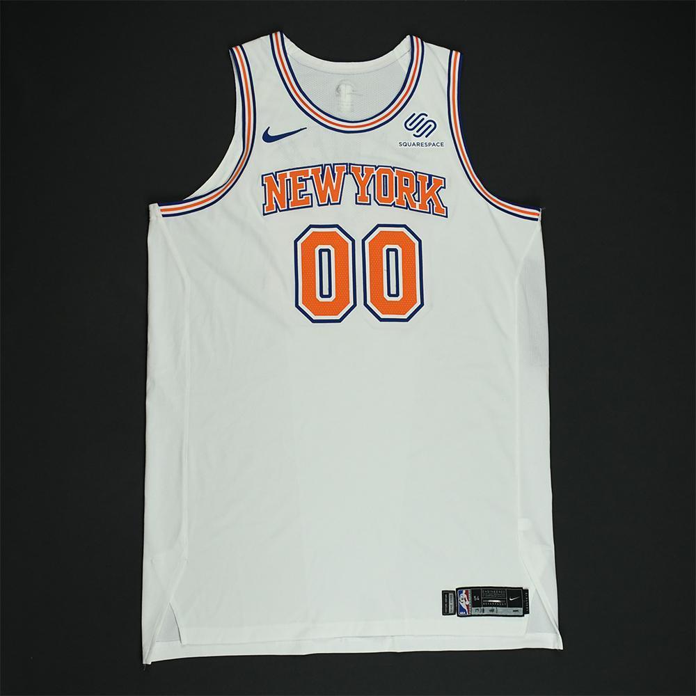 316adab79 Enes Kanter - New York Knicks - Game-Worn  Statement  Jersey - 2017 ...