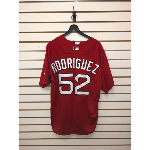 Photo of Eduardo Rodriguez Team-Issued Home Batting Practice Jersey