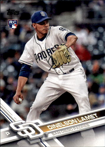 Photo of 2017 Topps Update #US35 Dinelson Lamet RC