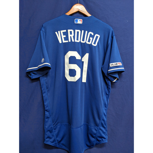 Photo of Alex Verdugo Team-Issued 2019 Spring Training Jersey