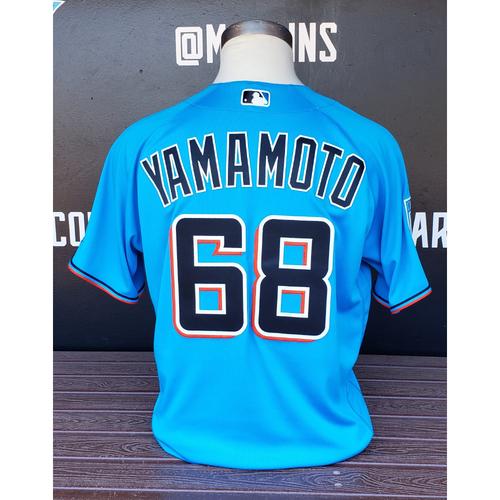Photo of Team Issued Jersey: Jordan Yamamoto 2019 Spring Training - Size 46