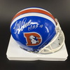 HOF - Broncos Floyd Little Signed Mini Helmet