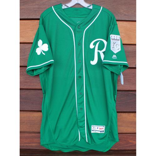 Photo of Team-Issued St. Patrick's Day Jersey: Ryan Eigsti (Size - 46)