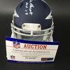 HOF - Cowboys Gil Brandt Signed Mini Helmet