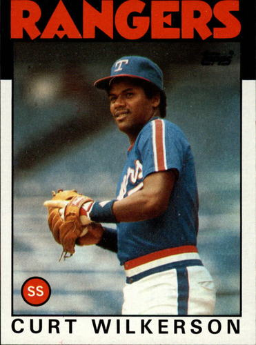 Photo of 1986 Topps #434 Curt Wilkerson