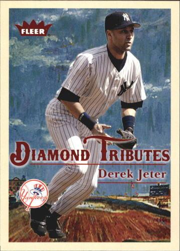 Photo of 2005 Fleer Tradition Diamond Tributes #12 Derek Jeter