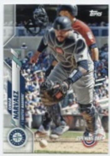 Photo of 2020 Topps Opening Day #25 Omar Narvaez