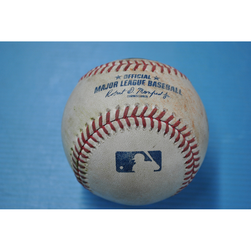 Photo of Game-Used Baseball - CHI at PIT - 9/21/2020 - Pitcher - John Lester, Batter - Ke'Bryan Hayes, Bot 4, Single