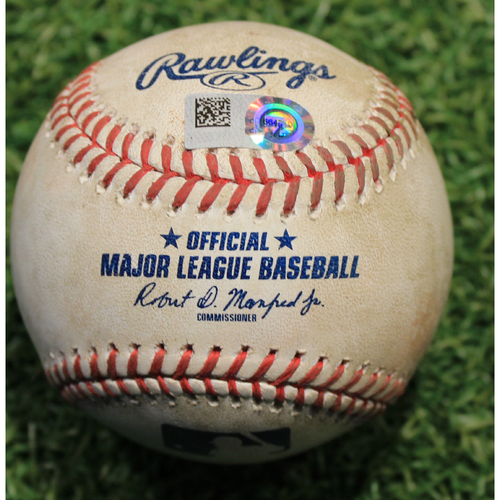Photo of Game-Used Baseball: Kris Bryant 758th Career Hit (CHC @ KC 8/5/20)