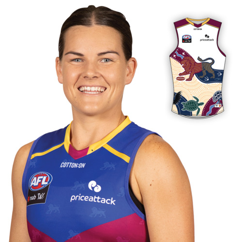 Photo of 2021 AFLW Indigenous Guernsey - Sophie Conway