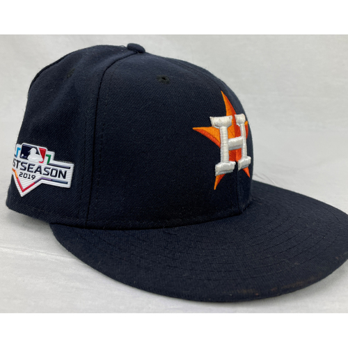 Photo of Jose Altuve 2019 Postseason Team-Issued Hat