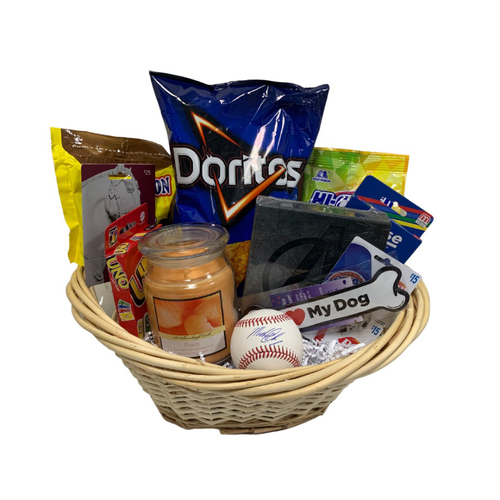 Michael Chavis Favorite Things Basket