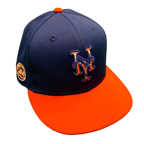 Photo of Team Issued Blue Hat with 2021 Spring Training Patch - #99 - 2021 Spring Training