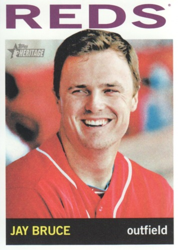 Photo of 2013 Topps Heritage #80A Jay Bruce