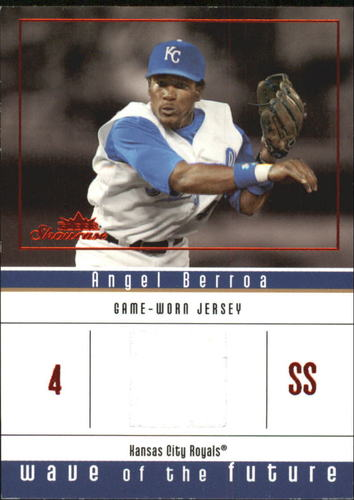 Photo of 2005 Fleer Showcase Wave of the Future Jersey Red #AB Angel Berroa