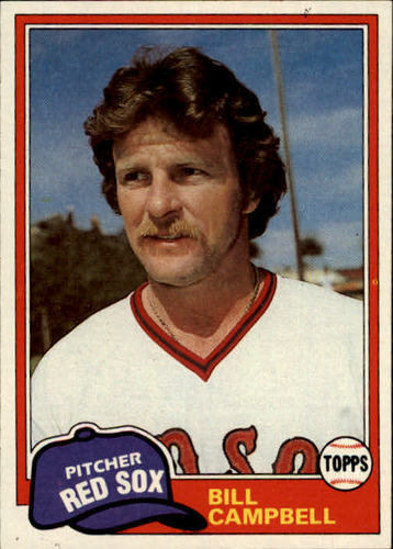 Photo of 1981 Topps #396 Bill Campbell