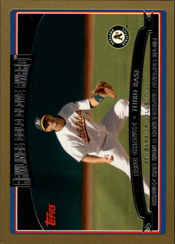 Photo of 2006 Topps Gold #247 Eric Chavez GG