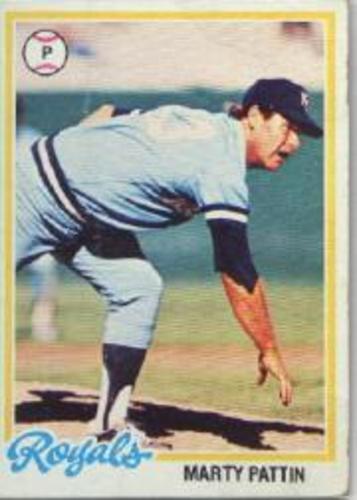 Photo of 1978 Topps #218 Marty Pattin