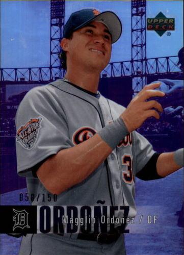 Photo of 2006 Upper Deck Special F/X Purple #179 Magglio Ordonez /150