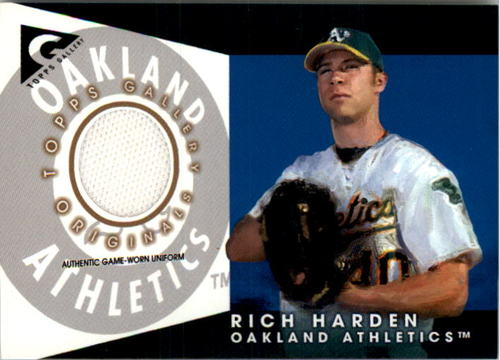 Photo of 2005 Topps Gallery Originals Relics #RH Rich Harden Uni