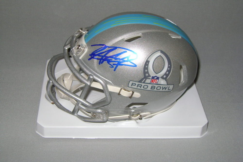 NFL - BILLS LORENZO ALEXANDER SIGNED 2017 PRO BOWL MINI HELMET
