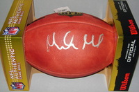 NFL - COLTS MARLON MACK SIGNED AUTHENTIC FOOTBALL