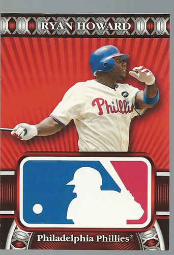 Photo of 2010 Topps Logoman HTA #48 Ryan Howard
