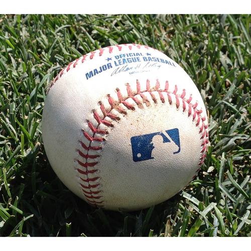 Photo of Game-Used Baseball: Bryce Harper Single